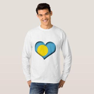 Palau de Vlag van het Hart T Shirt