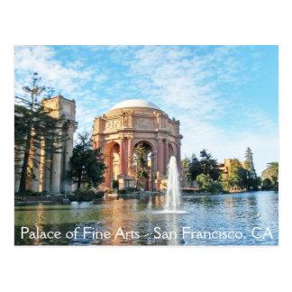 Paleis van Beeldende kunsten - San Francisco Briefkaart