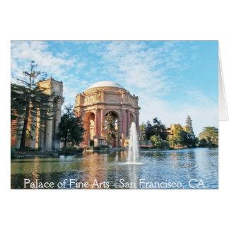 Paleis van Beeldende kunsten - San Francisco Kaart