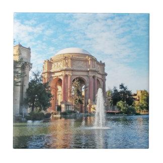Paleis van Beeldende kunsten - San Francisco Keramisch Tegeltje
