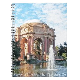 Paleis van Beeldende kunsten - San Francisco Notitieboek