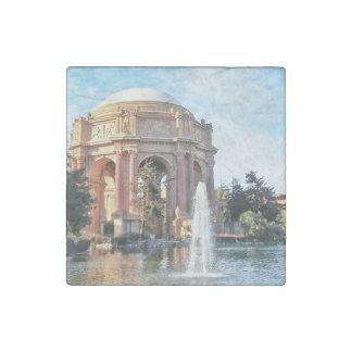 Paleis van Beeldende kunsten - San Francisco Stenen Magneet