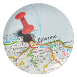 Palermo, Italië Melamine+bord