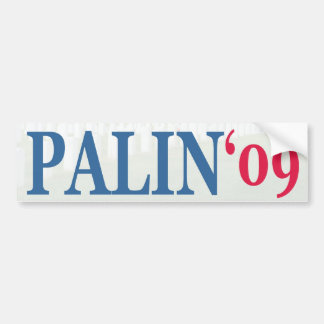 Palin '09 bumpersticker
