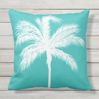 Palm Aqua Sierkussen