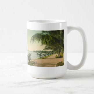 Palm Beach 1898 de vintage scène van Florida Koffiemok