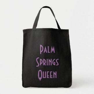 Palm Springs Koningin Grocery Tote Draagtas
