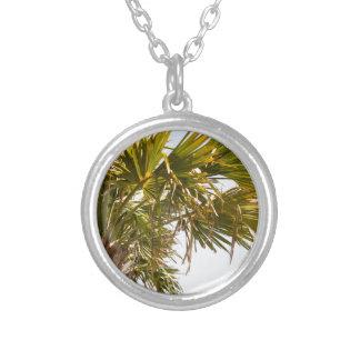 Palm van het Strand van de Mirte van de Kust van Zilver Vergulden Ketting