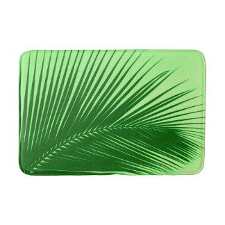 Palmblad - groene smaragd en limoen badmatten