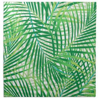 Palmbladen Katoenen Servet