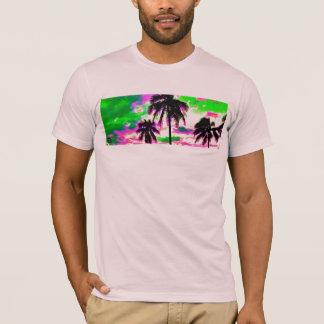 Palmen aan een Hemel die van Doppler worden T Shirt