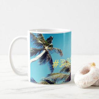 Palmen en Paradijs Hashtag Koffiemok