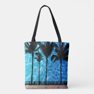 Palmen met het Grafische Canvas tas van de