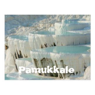 Pamukkale, het Briefkaart van Turkije