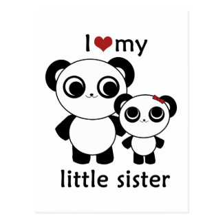 Panda - de liefde van I mijn kleine zuster Briefkaart