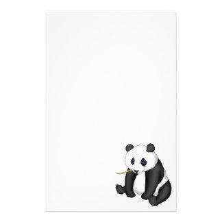 Panda die Bamboe eten Briefpapier