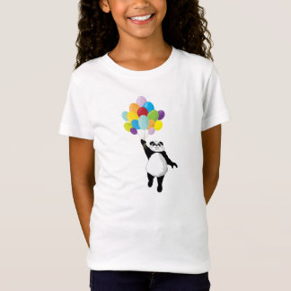 Panda en Ballons T Shirt
