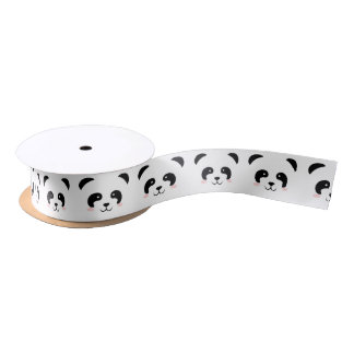Panda Satijnen Lint