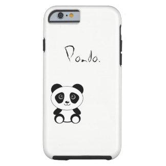 Panda. Tough iPhone 6 Hoesje