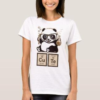 Panda van de chemie ontdekte leuk t shirt