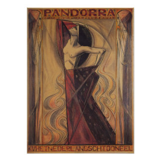 """PANDORRA het poster van """"Arthur Van Schendel"""""""