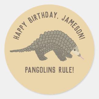 Pangolins Gepersonaliseerde Stickers