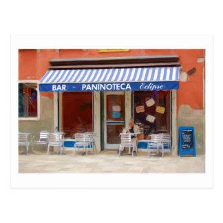 Paninoteca Venetië Italië Briefkaart