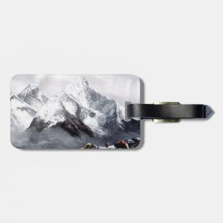 Panorama van Berg Everest Kofferlabels