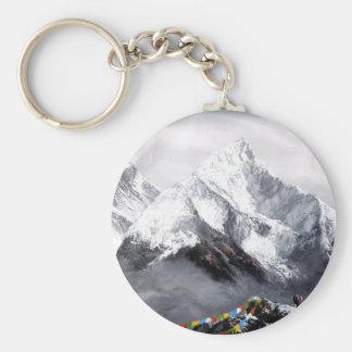 Panorama van Berg Everest Sleutelhanger