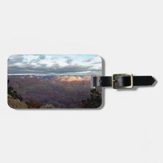 Panorama van de Grote Canion Kofferlabels