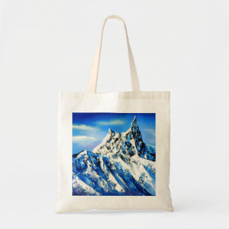 Panorama van de Piek van de Berg Everest Draagtas