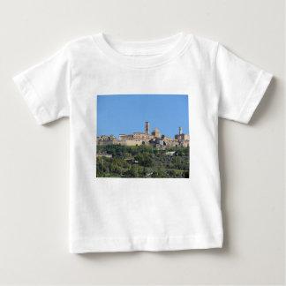 Panorama van dorp Volterra. Toscanië, Italië Baby T Shirts