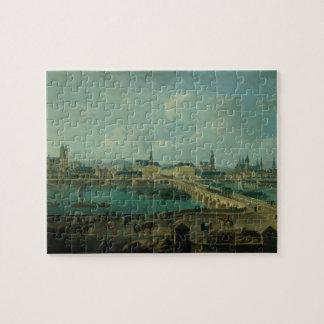 Panorama van Reizen, 1787 (olie op canvas) Puzzel