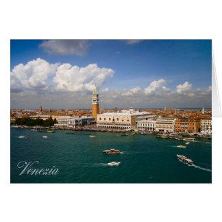 Panorama van Venetië Kaart