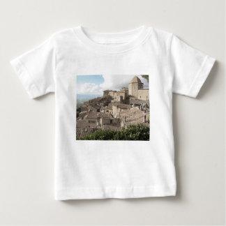 Panorama van Volterra dorp, provincie van Pisa Baby T Shirts