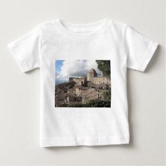 Panorama van Volterra dorp, Toscanië, Italië Baby T Shirts