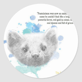 Pantalaimon, Daemon van Lyra van Zijn Donkere Ronde Sticker