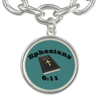 Pantser van de Armband w/Bible van de Charme van