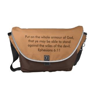Pantser van de Zak w/Bible van de Boodschapper van Courier Bag