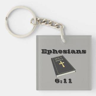 Pantser van God Keychain w/Bible Sleutelhanger