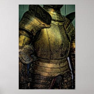 Pantser van Middeleeuwse Ridder Poster