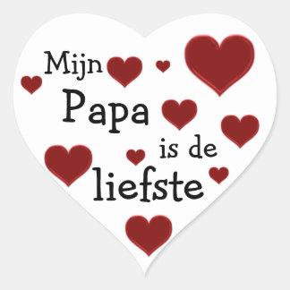 Papa is de liefste sticker