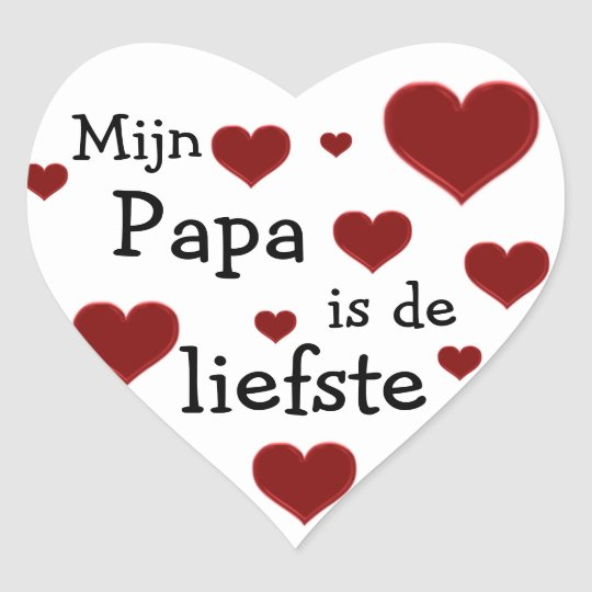 Papa is de liefste sticker