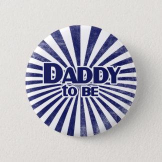 Papa om te zijn ronde button 5,7 cm