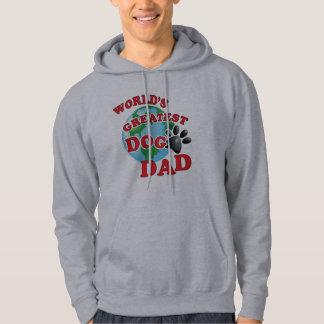 Papa van de Hond van werelden de Grootste Hoodie