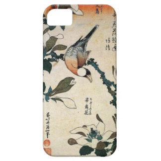 Papegaai en Bloemen Barely There iPhone 5 Hoesje