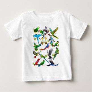 Papegaaien Galore Baby T Shirts