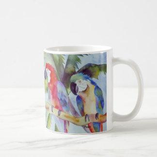 Papegaaien in Paradijs Koffiemok
