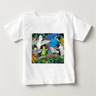 Papegaaien van de Wereld Baby T Shirts