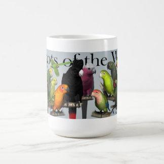 Papegaaien van de Wereld Koffiemok